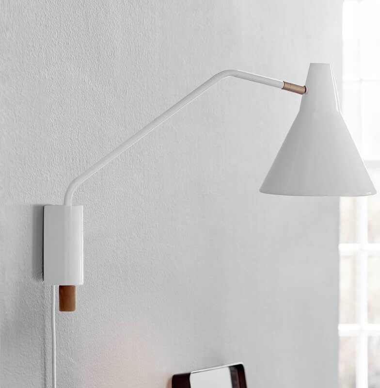 Nordy Adjustable Wall Light - White