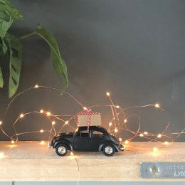 Christmas Car Decoration - Black