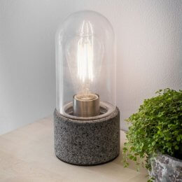 Granite Table Lamp