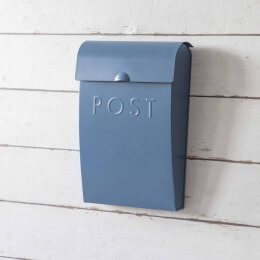 Post Box - Blue
