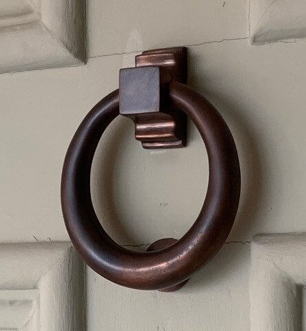 Hoop Door Knocker - Autumn Bronze