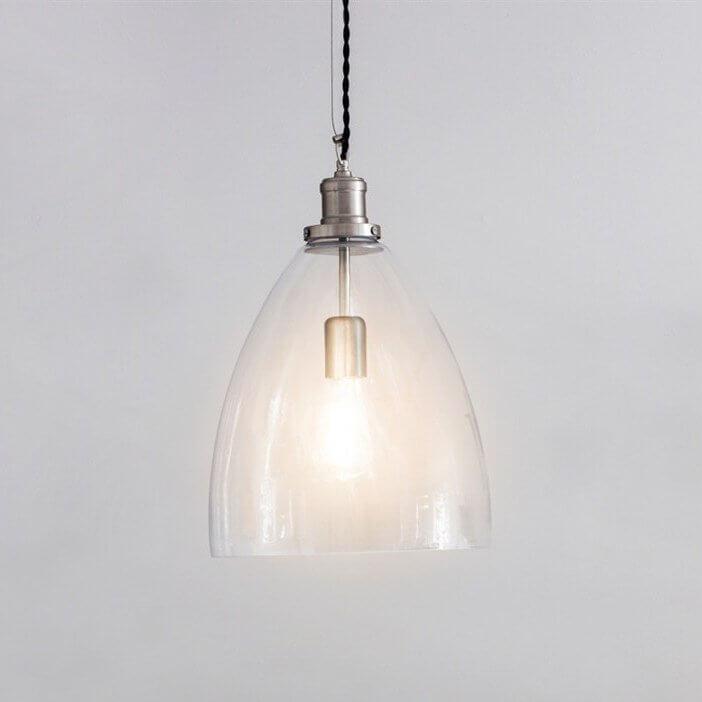 Hoxton Glass Pendant Light - Bullet save 15%