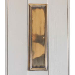 Lincoln Fingerplate- Brass