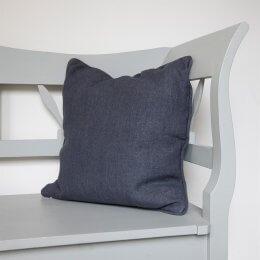Linen Cushion - Charcoal