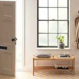 Oak Hallway Bench - save 25%