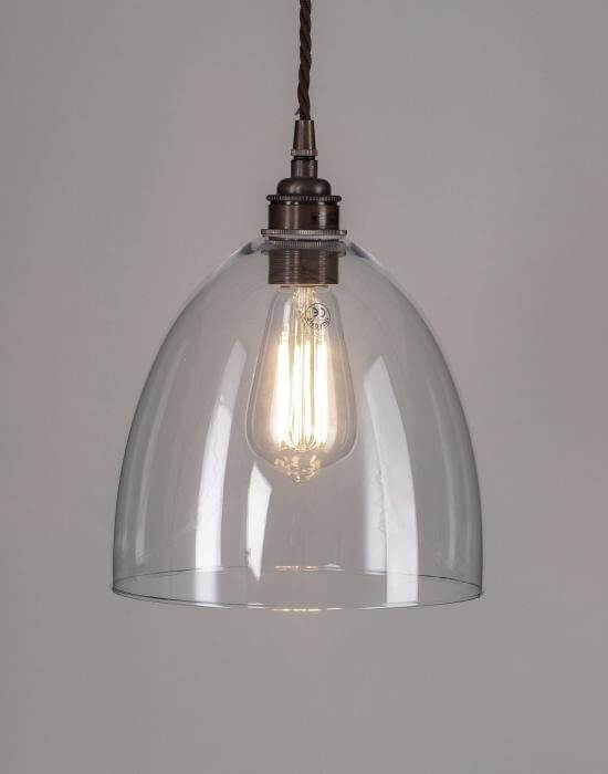 Drop Glass Pendant Light