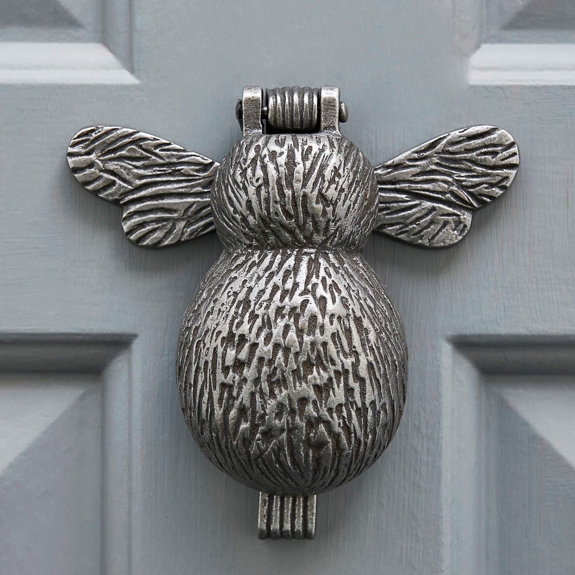 Bumble Bee Door Knocker - Antique Iron save 25%