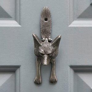 Fox Door knocker - Antique Iron save 15%