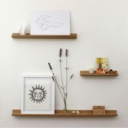 Oak Picture Ledge - save 25%