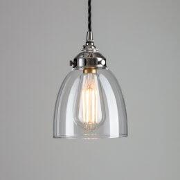 Bell Glass Pendant Light - Small