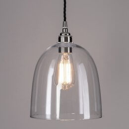 Bell Glass Pendant Light - Large