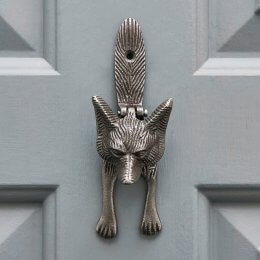 Fox Door knocker - Antique Iron
