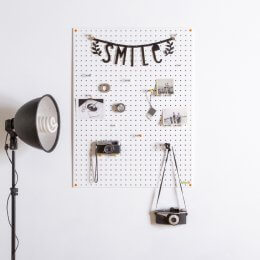Pegboard - White save 25%