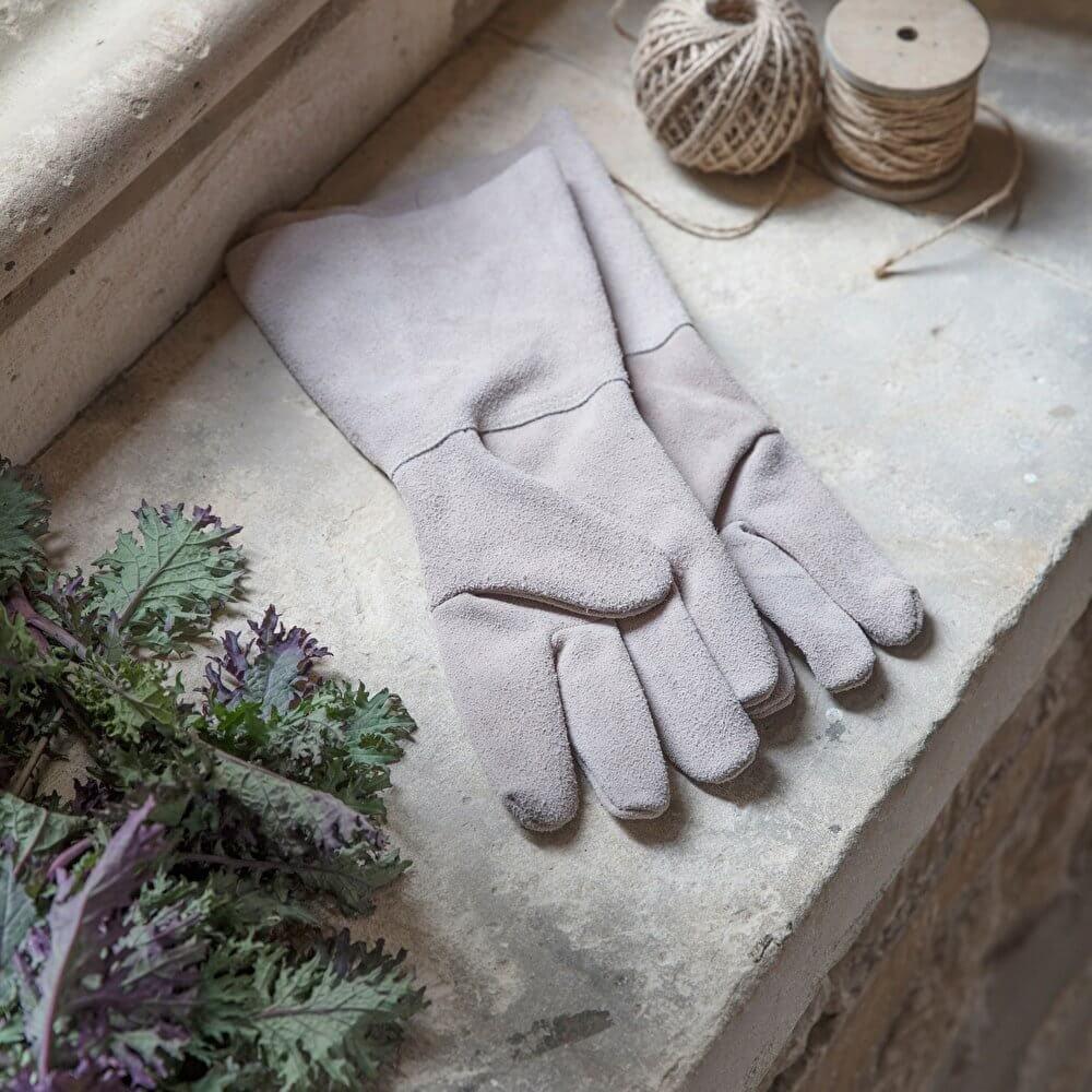Gauntlet Gloves - Natural