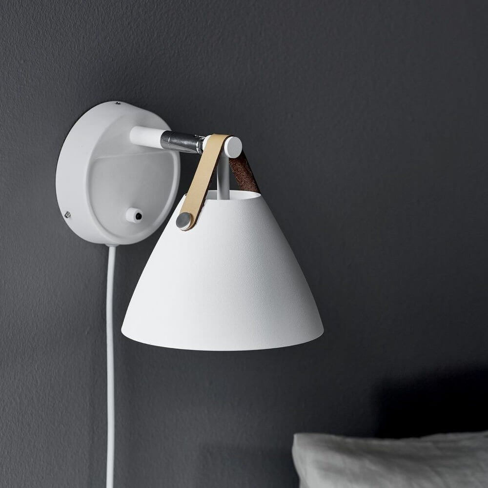super popular 1cce3 7b6ec Nordic White Wall Light