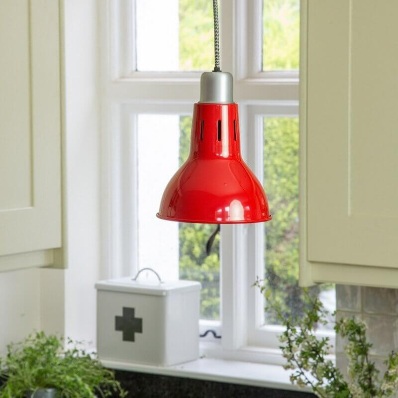 Mirada Pendant Lamp - Red save 70%