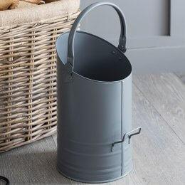 Fireside Coal Hod - Grey