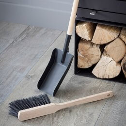 Fireside Dustpan and Brush