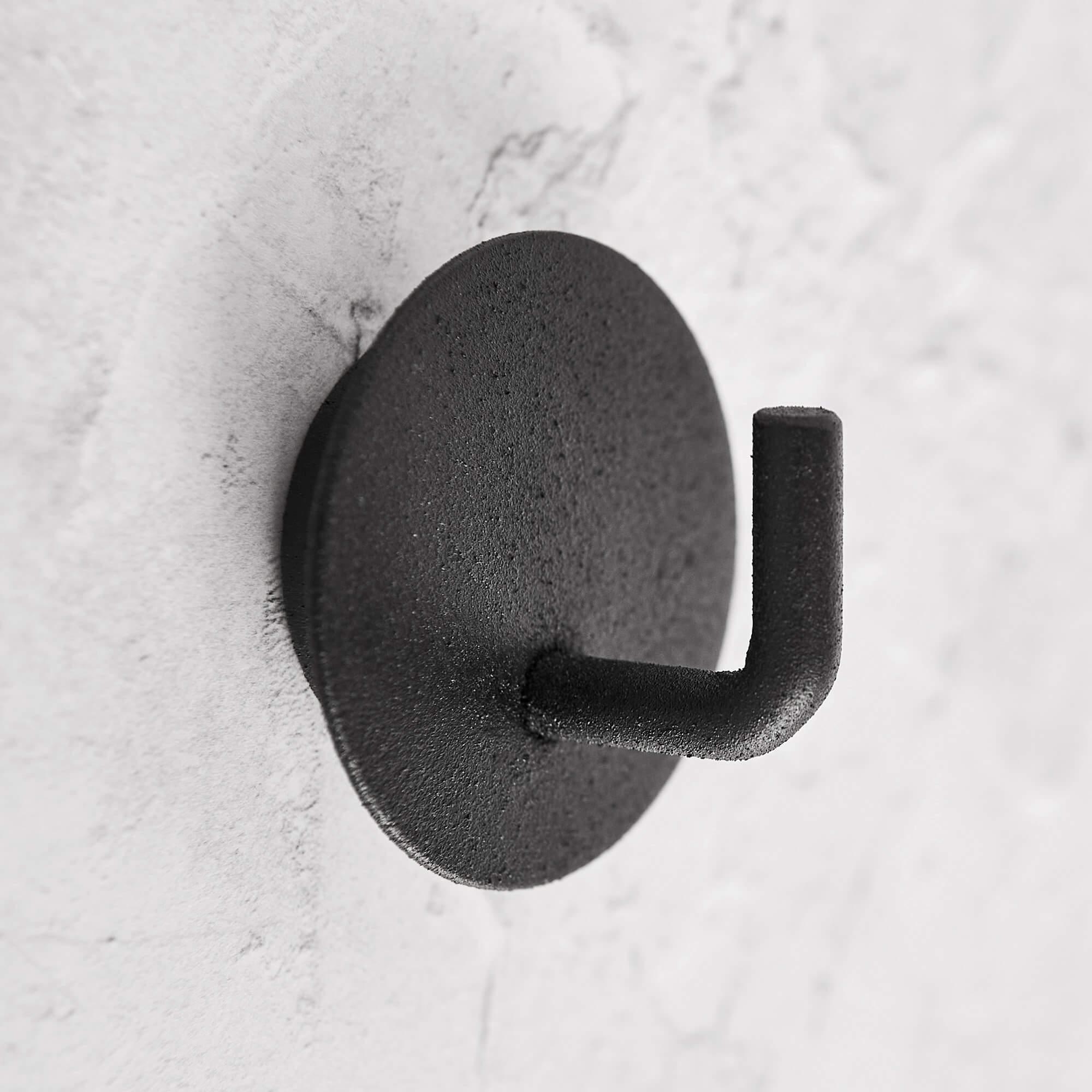 Black Hook On Backplate