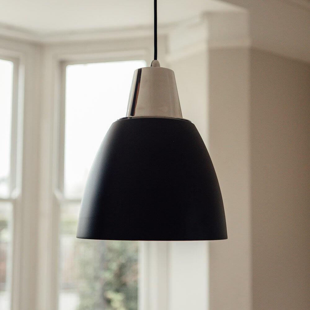 Noah Pendant Light - Black save 30%