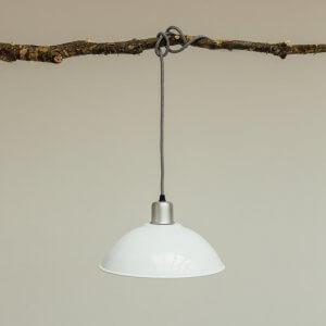 Basin Lamp - White