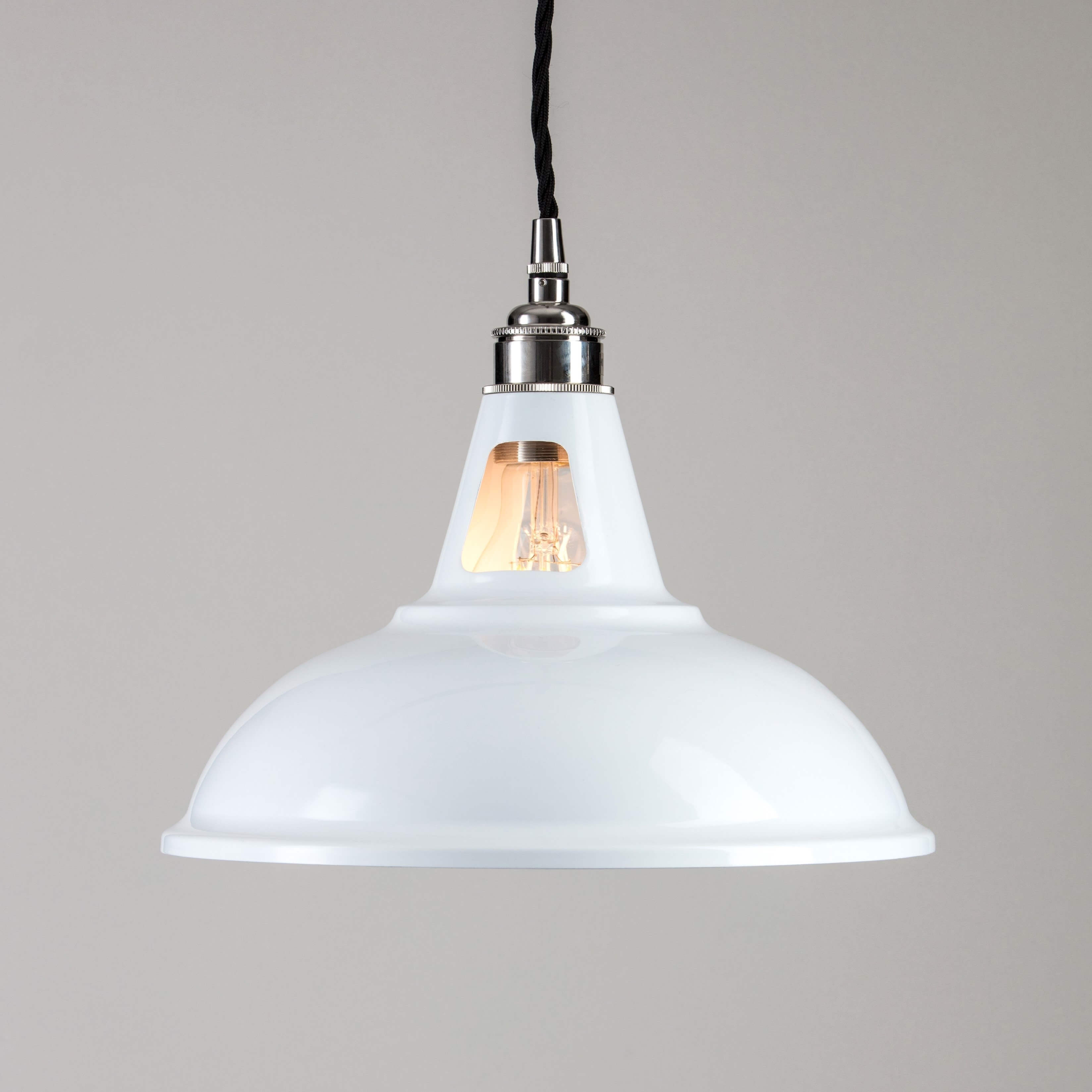 Factory Pendant Light - White