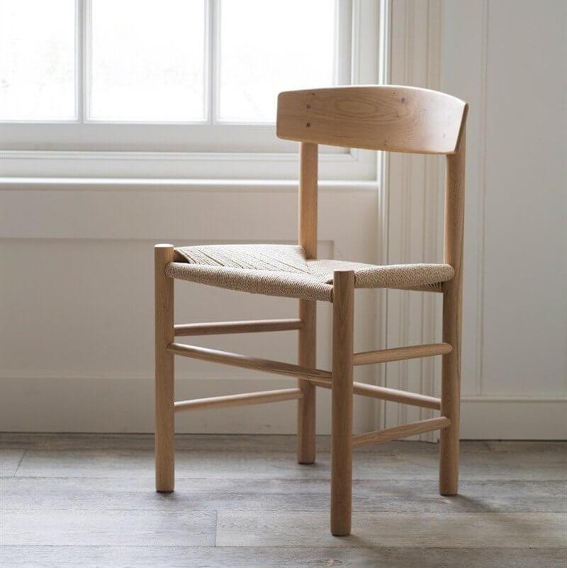 Oak & Jute Chair