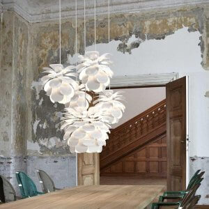Bang Pendant Light - White