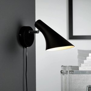 Olso wall light - Black