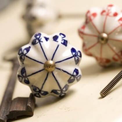 Ceramic Cabinet Knob - Henna SAVE 70%