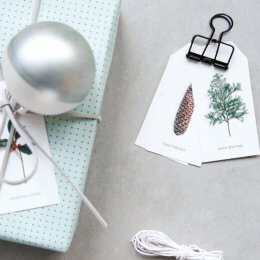 Winter Gift Tags - SAVE 70%