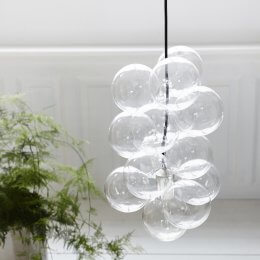 Glass Ball Pendant Light - save 30%