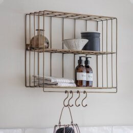 Industrial Wall Rack