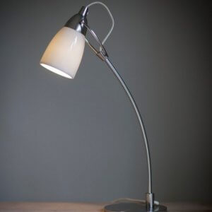Shoreditch Table Lamp - White - ONLY 1 LEFT IN STOCK SAVE 50%