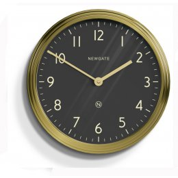 The Spy Clock by Newgate - Brass save 30%