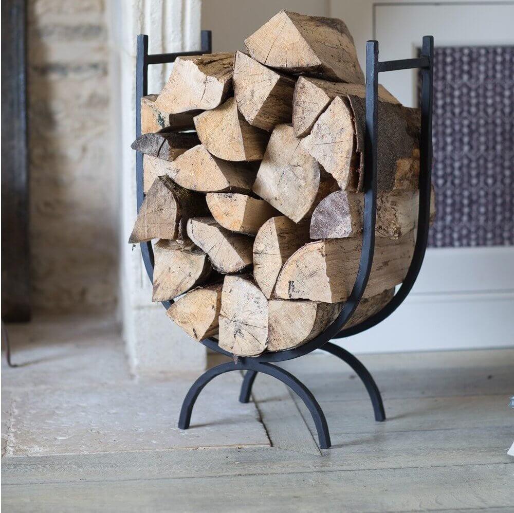 Iron Log Holder - Large