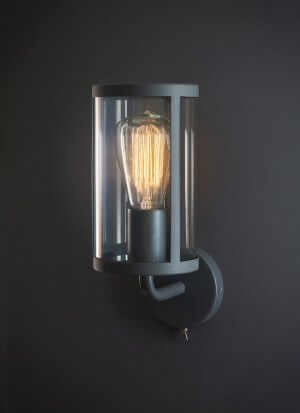 Cadogan Wall Light - Carbon - SAVE 15%