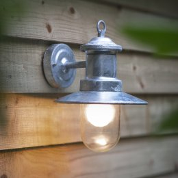 St Ives Galvanised Ship's Light - save 15%