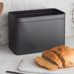 Bread Bin With Marble Top