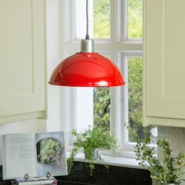 Basin Lamp - Red SAVE 40%