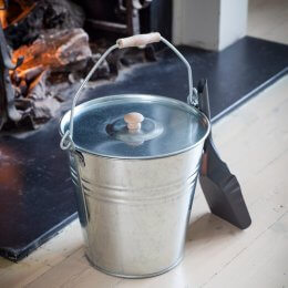 Fireside Galvanised Bucket - save 30%