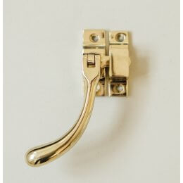 Bulb End Casement Fastener - Brass