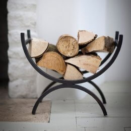 Iron Log Holder