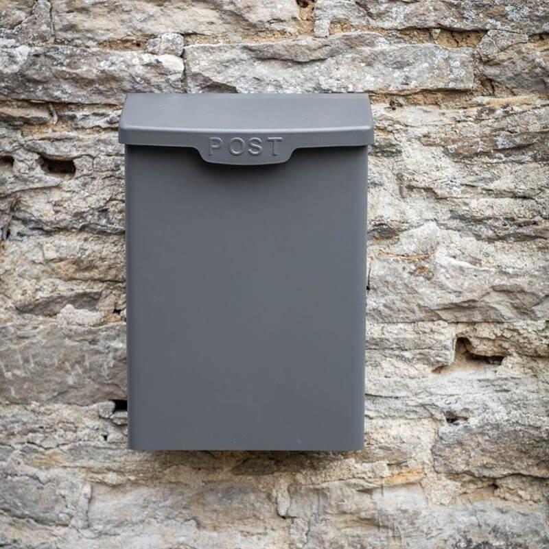 Shipton Post Box - Charcoal