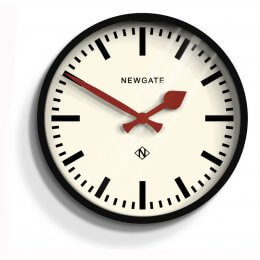The Luggage Clock by Newgate - Gloss Black save 30%