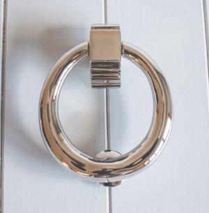 Hoop Door Knocker- Polished Nickel