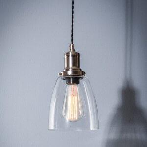Hoxton Glass Pendant Light - Dome SAVE 15%