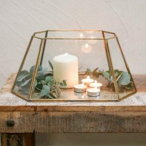 Brass Table Lantern