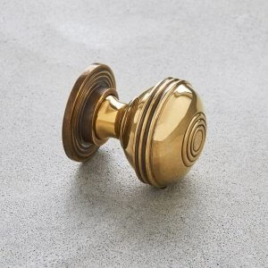 Regency Prestbury Cabinet Knob - Brass