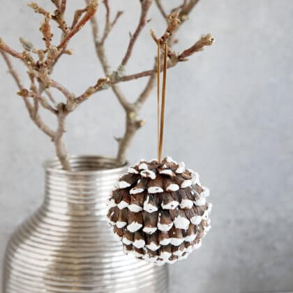 Cone Tree Decoration - SAVE 70%